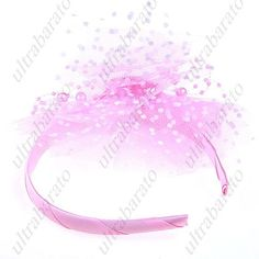 $4.49 - Beautiful Hair Hoop Hair Band Ornament Head Band Headband with Babysbreath Pearls for Little Girl - Pattern Assorted from UltraBarato Gadgets