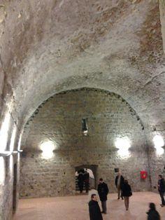 Viterbo, il Palazzo dei Papi (piani inferiori)