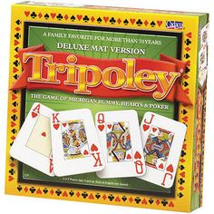Tripoley 2004 Deluxe Edition Board Game  5) deck of cards