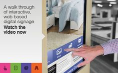 The resulting kiosks provide shoppers with everything from product catalogues to a virtual wishlist, enabling them to develop customised PDF brochures of their desired products