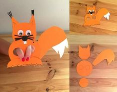 Squirrel craft ideas for preschoolers Recycled Squirrel craft ideas Squirrel and leaves craft Paper plate and paper bag squirrel crafts Toilet paper roll squirrel craft for kids Squirrel craft and templates for preschool Paper Animal Crafts, Animal Art Projects, Paper Animals, Animal Crafts For Kids, Paper Crafts For Kids, Projects For Kids, Art For Kids, Construction Paper Art, Puppets For Kids