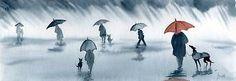 RAINING-PAINTING-GREYHOUND-LURCHER-WHIPPET-DOG-RAIN-6219-Dianne-Heap-ART-PRINT