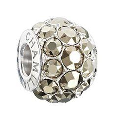 Splendor - Metallic Light Gold Swarovski Bead - 2015 Spring Collection - 2025-1273 | chamilia.com