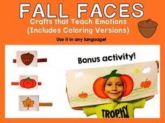 This product includes simple art pages to teach emotions. It has a coloring version too!Have fun!Carolina