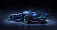 koenigsegg agera Collaboration, Khyzyl Saleem on ArtStation at https://www.artstation.com/artwork/koenigsegg-agera-collabortion
