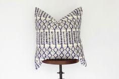 24x24 Batik Hmong Pillow Cover Boho Pillow Nursery Decor