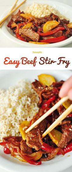 This Easy Beef Stir Fry will rival any take-out restaurant. See for yourself!