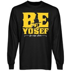 Appalachian State Mountaineers Be Yosef Long Sleeve T-Shirt - Black