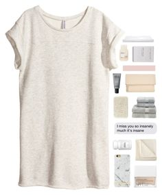 """kiara"" by rattle-the-stars ❤ liked on Polyvore featuring H&M, Richmond & Finch, NARS Cosmetics, Martex, Fresh, Christy, Kin by John Lewis, MAKE UP FOR EVER, Ex Voto Paris and Davines"