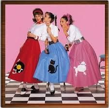 1950s fashion - poodle skirts. You Can Do It 2. http://www.zazzle.com/posters?rf=238594074174686702