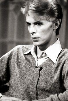 David Bowie, 1976.