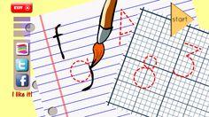 Aprende el alfabeto para niños. App para trabajar el trazado de las letras y los números