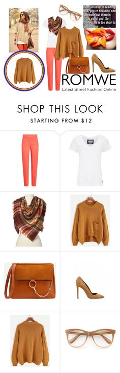 """""""Romwe"""" by elza-345 ❤ liked on Polyvore featuring MaxMara, Superdry, Dee Keller and Wildfox"""