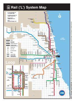 Virginia Duran Blog- Infographics- Subway Map- Chicago-