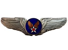 Army Air Corps Large Wings Quality 3 inch Width hat or lapel pin Sujak Military Items http://www.amazon.com/dp/B009JFT9K4/ref=cm_sw_r_pi_dp_FTFzwb1QY2ZPJ