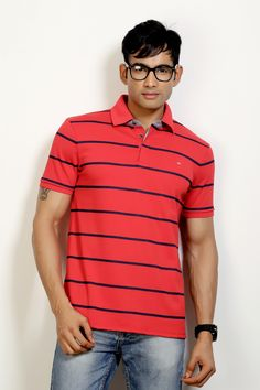 Fashion Polo with Stripes to Rock your Weekend