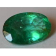 Natural  Emerald  of Oval  Shape 0.55carat
