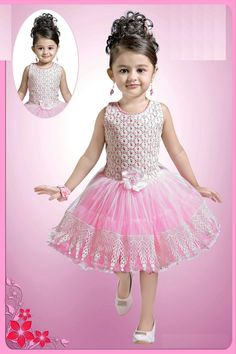 Varshini Collections Kids Party Wear and Ethnic dresses Flower Girl Outfits, Girly Girl Outfits, Kids Outfits, Frocks For Girls, Kids Frocks, Toddler Fashion, Kids Fashion, Fasion, Fashion Outfits