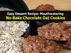 no-bake-chocolate-oat-cookies.jpg 1,200×900 pixels