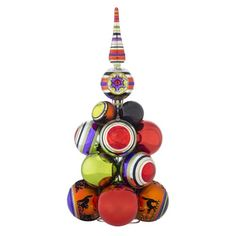 Christopher Radko Halloween Cluster Table Top Tree Decoration