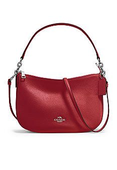 ... Hobo Shoulder Bag South Moon Under COACH Chelsea Crossbody In Pebble  Leather ... 4c87528dac