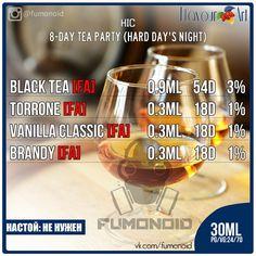 HIC (8 Days Tea Party) - чайные вкусы на каждый день