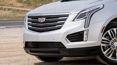 2017 Cadillac XT5 front fascia
