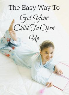 Sometimes it can be harder than you expect to find out what your child did today. I've tried lots of open-ended questions, but this trick worked wonders! www.spoilmyfamily.com