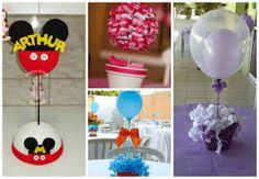 Resultado de imagem para decoração de mesa para festa infantil