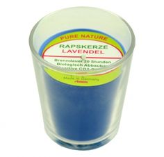 Stuwa Sea Blue Candle Lavender Fragrance Blue Candles, Fragrance, Vegan, Tableware, Holiday, How To Make, Food, Lavender, Candles