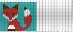 Tricksy Knitter Charts: fox 2 by tank