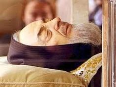 The remains of Padre Pio will leave the southern town of San Giovanni Rotondo on February 3 to go on display in Rome as part of the special Jubilee year of the Roman Catholic Church, the Capuchin minor brothers said Monday.