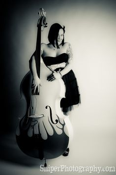 learn to play the upright bass.....