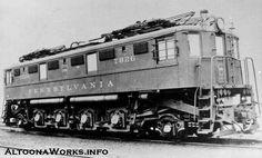 (Class L6).  Pennsylvania R.R..  AC electric locomotive, built 1932.