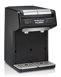 Hamilton Beach 49998 FlexBrew Dual Single Serve Coffee Maker, Black – KITCHEN APPLIANCES