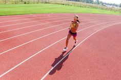 A day in the life of Kara Goucher begins with a 9am track workout.
