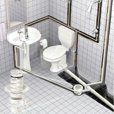 Check out this essential picture and take a look at the provided suggestions on Home Renovation Bathroom Bathroom Design Small, Bathroom Layout, Bathroom Interior Design, Design Bedroom, Bathtub Plumbing, Plumbing Drains, Plumbing Pipe, Bathroom Floor Plans, Bathroom Flooring