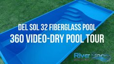 Learn more about the Del Sol fiberglass pool. Adults can lounge and relax on the spacious tanning ledge while kids can splash and play. Backyard Pool Designs, Small Backyard Pools, Swimming Pools Backyard, Pool Spa, Backyard Ideas, Pool Ideas, Landscaping Ideas, Outdoor Ideas, Outdoor Spaces