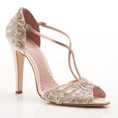 Gorgeous shoes! Check out the website. LOTS of vintage style interesting headpieces, veils, shoes...etc.