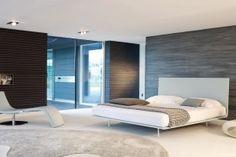 THIN.DOUBLE BED Design: Giuseppe Vigan? by bonaldo Italy