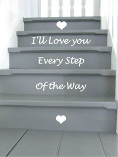 Love It!! If I had stairs in my house, I would so put this on them!