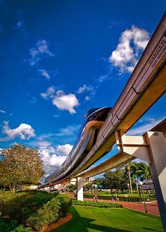 Disney - Monorail Black Outside the Magic Kingdom | Flickr - Photo Sharing!