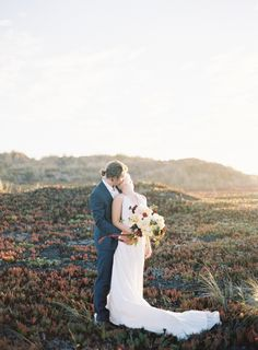 Northern California Coastal Wedding Inspiration via Magnolia Rouge