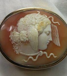Medusa Silver Snuff Box