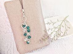 Crystals Planner Charm, Bag Charm, Zipper Pull Charm, Filofax Charm by PrettySang on Etsy