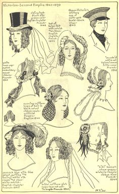 Village Hat Shop Gallery :: Chapter 15 - Victorian and Second Empire 1840-1870 :: 237_G