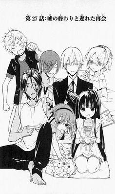 Inu x Boku SS : Inu x boku ss chap 27 Truyện Tranh Cute Anime Pics, Anime Love, Otaku Day, Manga Anime, Mom Died, Gekkan Shoujo Nozaki Kun, Romance, Kawaii, Secret Service