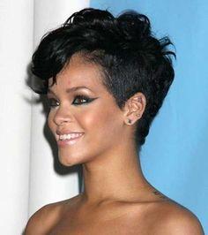 15 Pixie Haircut for Black Women | Pixie Cut 2015                                                                                                                                                     More