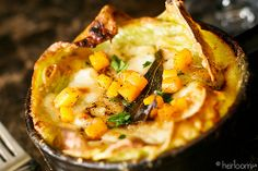 Pumpkin Lasagna with Brown Butter and Sage
