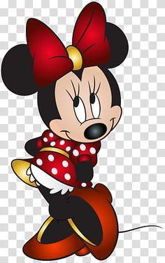 Disney Mickey Mouse, Arte Do Mickey Mouse, Minnie Mouse Drawing, Minnie Mouse Stickers, Mickey Mouse Drawings, Minnie Mouse Balloons, Mickey Mouse Pictures, Minnie Mouse Costume, Red Minnie Mouse